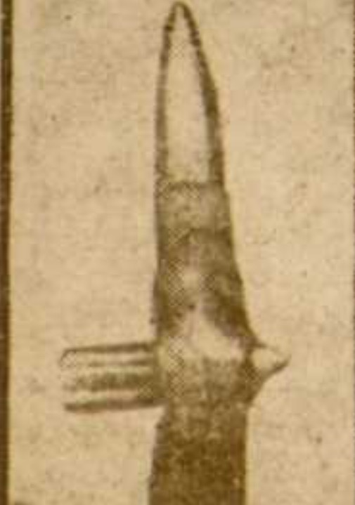 Photo Of Two Bullets Collided Mid Air Arms And Other Weapons Great War Forum
